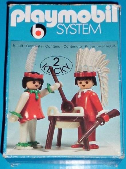 Playmobil 3179s1 - Indians - Box
