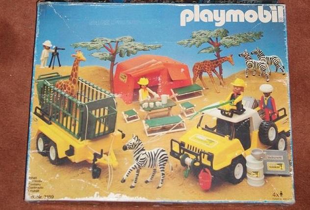 Playmobil 3189 - Safari Set - Box