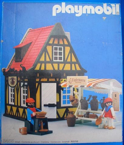 Playmobil 3455 - Medieval Pottery - Box