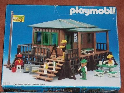 Playmobil 3433 - Safari Station - Box