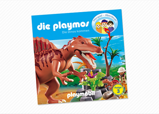 Playmobil - 80132 - Dinosaurs come (3) - CD