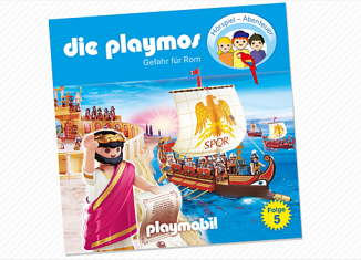 Playmobil - 80157 - Threat to Rome (5) - CD