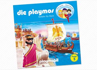 Playmobil - 80157-ger - Die Playmos. Gefahr für Rom - Folge 5