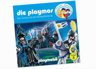Playmobil - 80163 - The tournament at the royal castle (8) - CD
