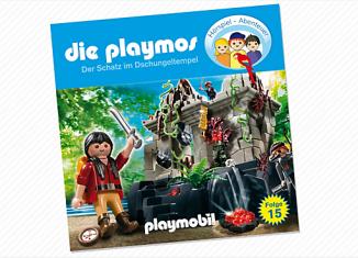 Playmobil - 80260 - The treasure in the jungle Temple (15) - CD