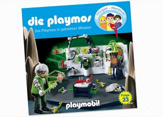 Playmobil - 80329-ger - Die Playmos in geheimer Mission - Folge 23