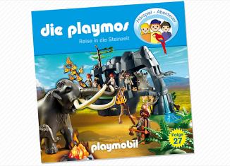 Playmobil - 80343-ger - Reise in die Steinzeit - Folge 27