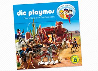 Playmobil - 80351 - Raid on the Gold Transport (32) - CD
