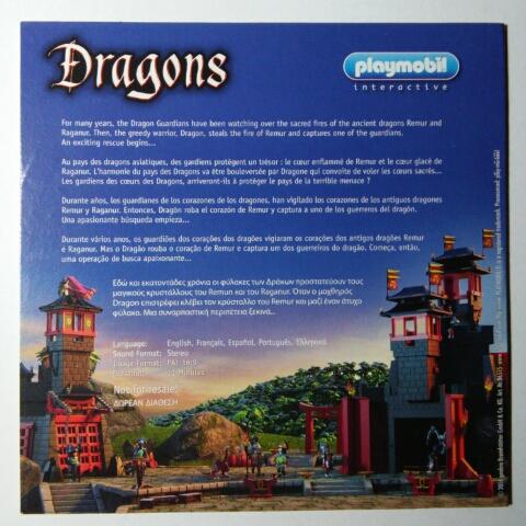 Playmobil Set: 86515 - DVD Dragons - Klickypedia