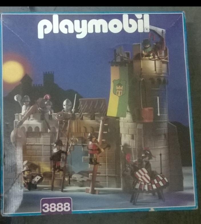 Playmobil 3888 - Castle Defenders - Box