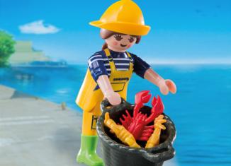 Playmobil - 6841v9 - Fisherwoman