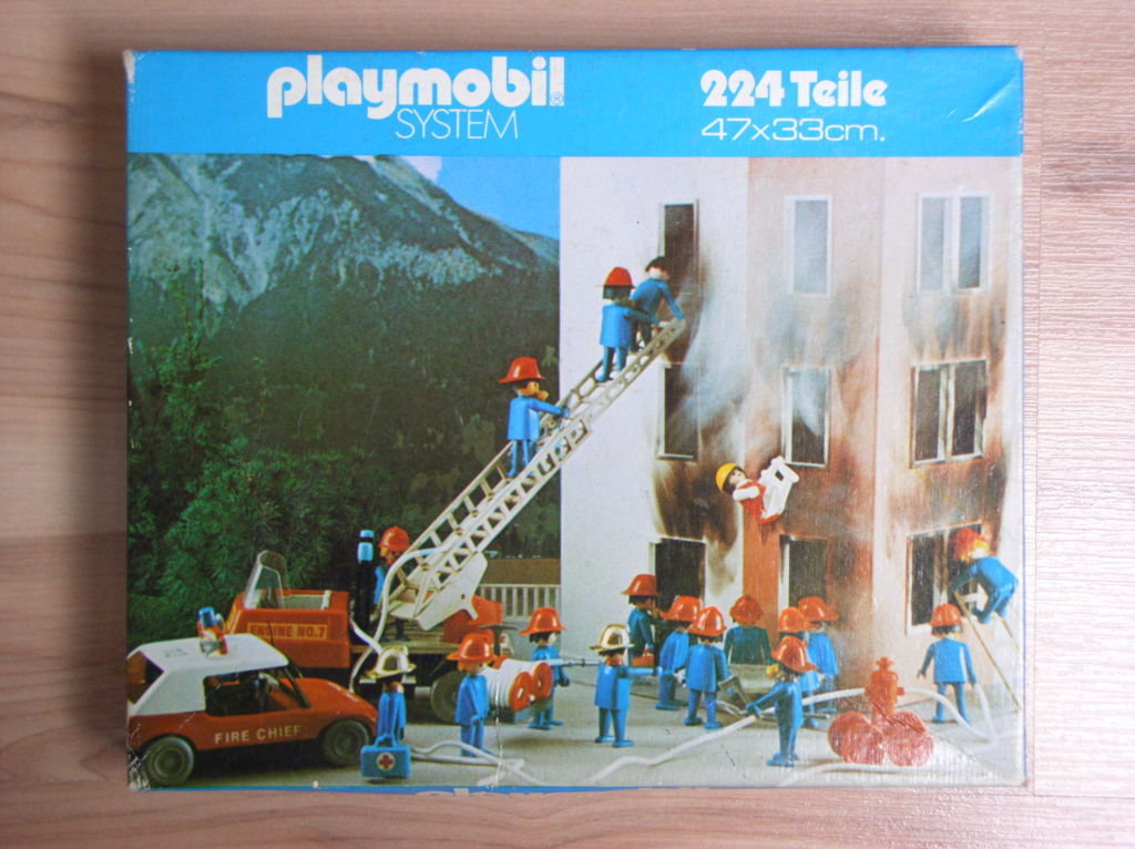 Playmobil NO-ger - Feuerwehr Puzzle - Box