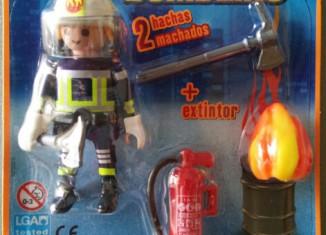 Playmobil - R009-30793913-esp - Fireman