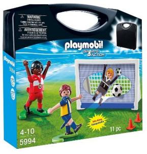 Playmobil 5994 - Carrying Case Soccer - Box