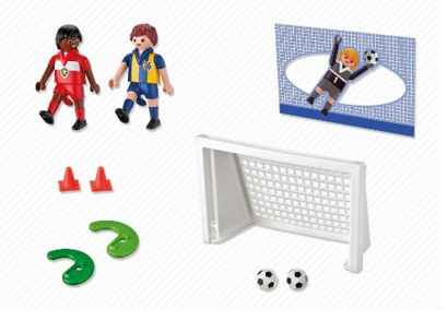 Playmobil 5994 - Carrying Case Soccer - Back