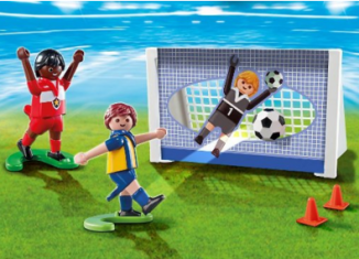 Playmobil - 5994 - Carrying Case Soccer