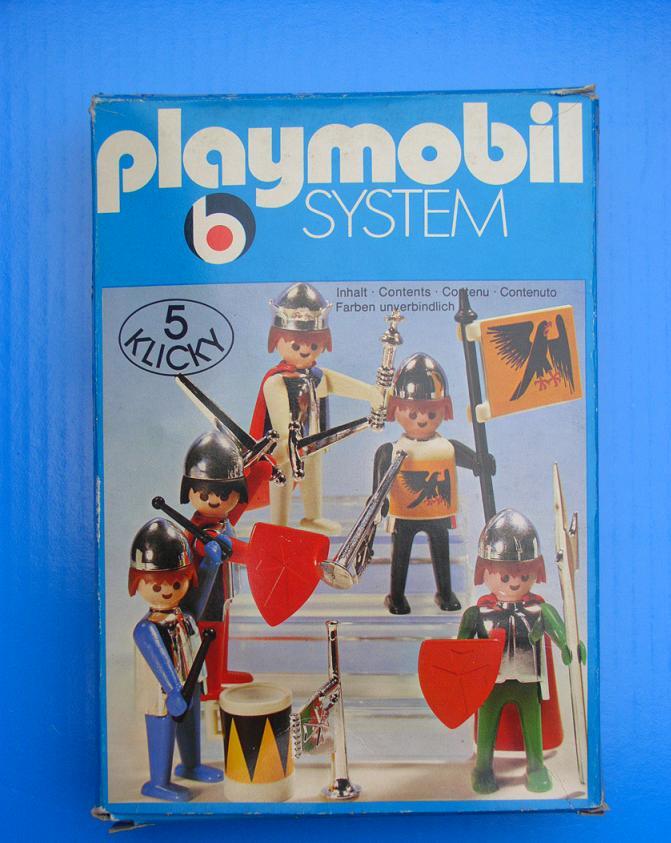 Playmobil 3261v2 - Knights - Box