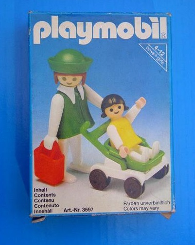 Playmobil 3597 - Mother & Child - Box