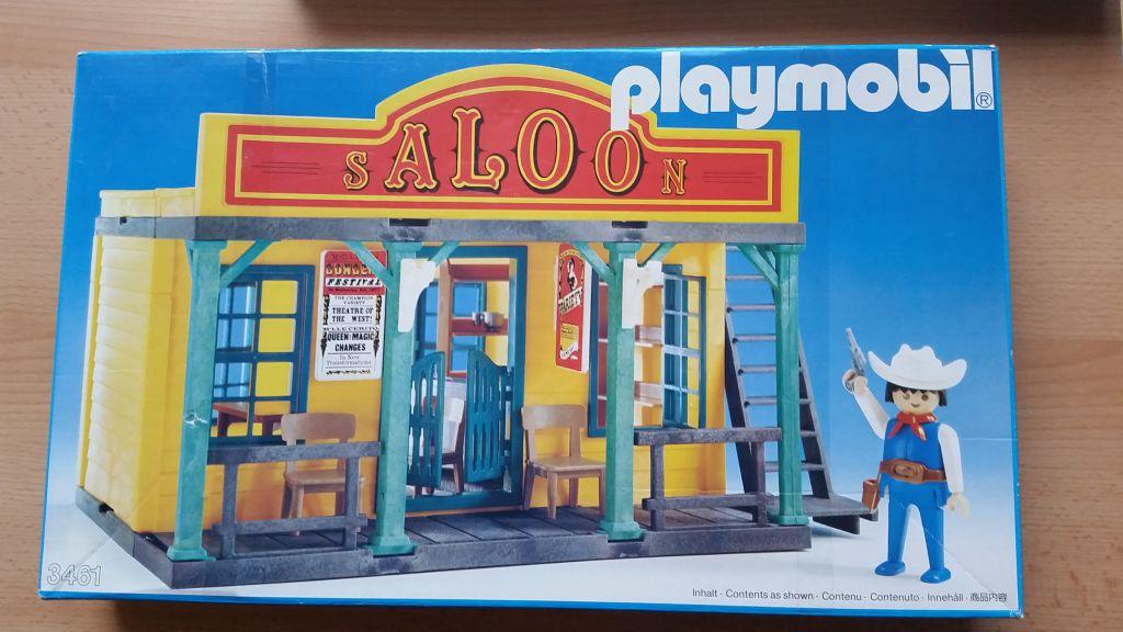 Playmobil 3461 - Saloon - Box
