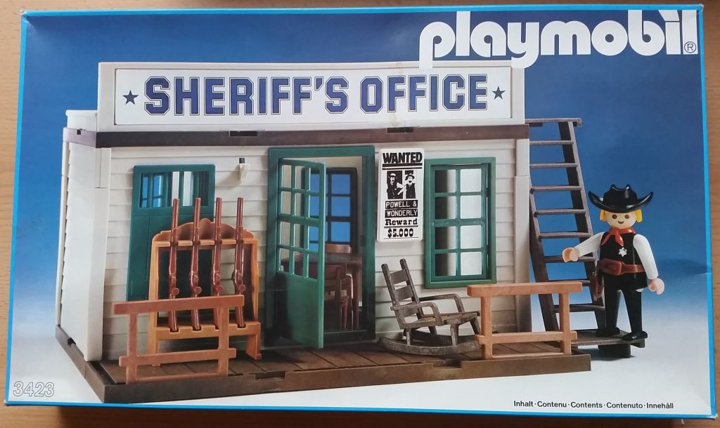 Playmobil 3423v3 Sheriff S Office