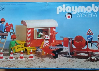 Playmobil - 3151s1 - Construction Trailer and Workers