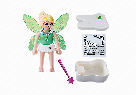 Playmobil 5381 - Tooth fairy - Back