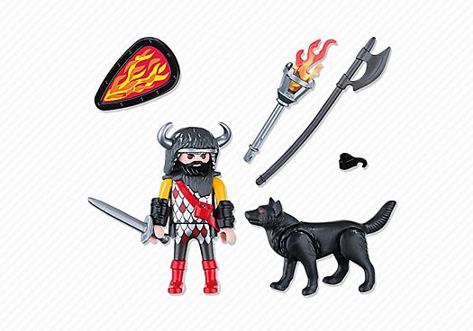 Playmobil 5385 - Wolf Warrior - Back