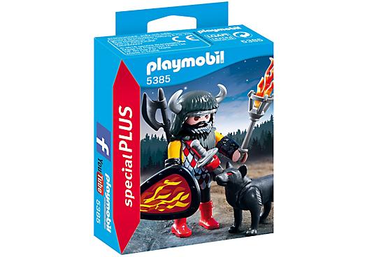 Playmobil 5385 - Wolf Warrior - Box