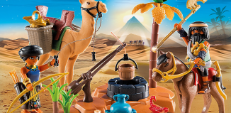 Playmobil - 5387 - Camp of grave robber