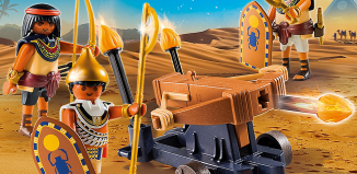 Playmobil - 5388 - Egyptian Troop with Ballista