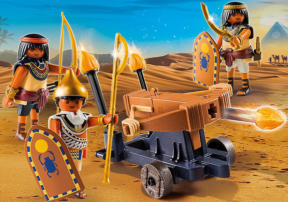 Playmobil set 5388 egyptian troop with ballista - Playmobil egyptien ...