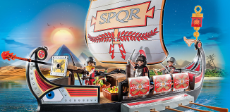Playmobil - 5390 - Roman Warriors' Ship