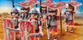 Playmobil - 5393 - Legionarios en posición tortuga