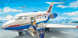 Playmobil - 5395 - Avion de passagers