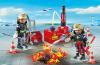 Playmobil - 5397 - Firemen hydrant airport