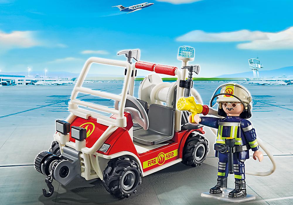 playmobil set 5398 firemen kart klickypedia. Black Bedroom Furniture Sets. Home Design Ideas