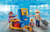 Playmobil - 5399 - Family at the check-in machine