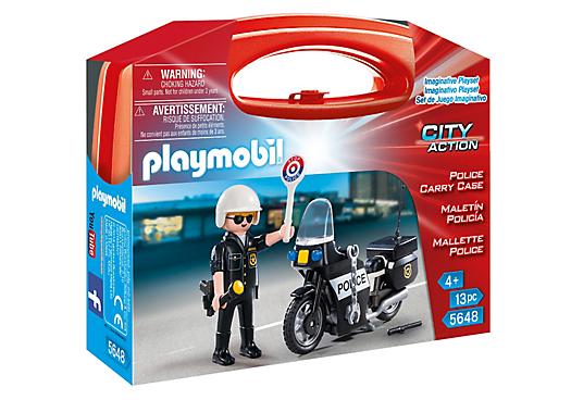 Playmobil 5648-usa - Police Carry Case - Box