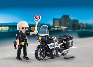 Playmobil - 5648-usa - Police Carry Case
