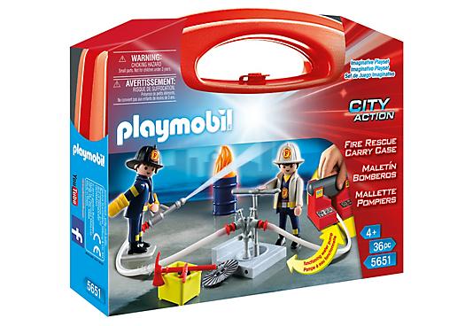 Playmobil 5651-usa - Fire Rescue Carry Case - Box