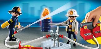 Playmobil - 5651-usa - Fire Rescue Carry Case