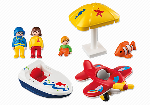 Playmobil 6050 - Fun on vacation - Back