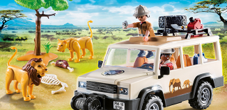 Playmobil - 6798 - 4x4 safari truck
