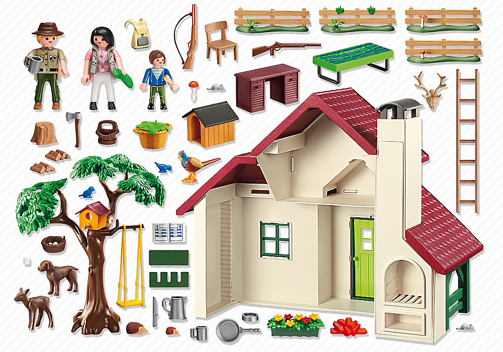 Playmobil 6811 - Cottage - Back