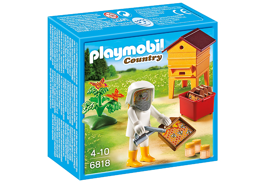 Playmobil 6818 - Beekeeper - Box