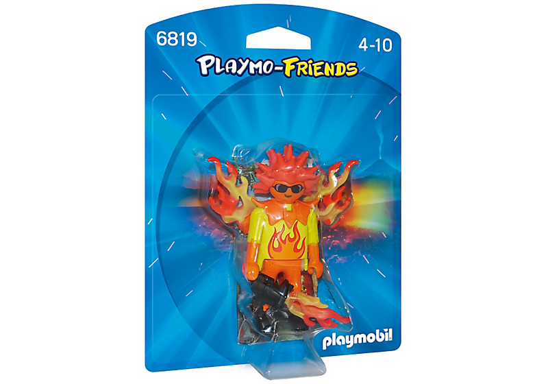 Playmobil 6819 - Flamiac - Box
