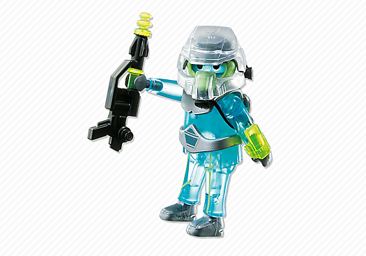 Playmobil 6823 - Space Fighter - Back