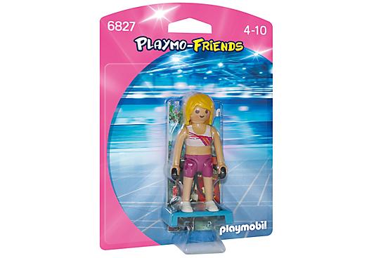 Playmobil 6827 - Fitness trainer - Box