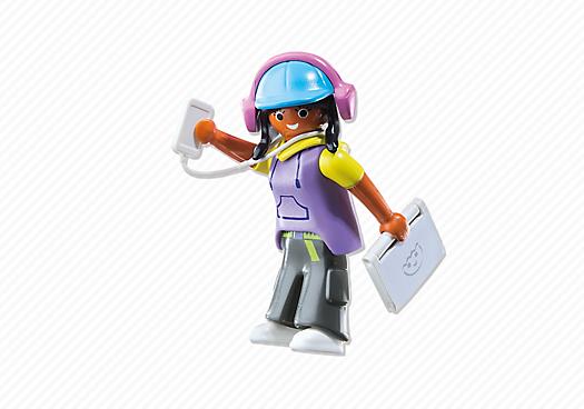 Playmobil 6828 - Multimedia Girl - Back