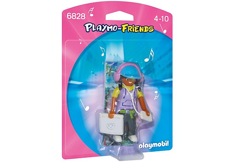 Playmobil 6828 - Multimedia Girl - Box
